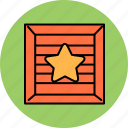 bookmark, buy, crate, favourite, shop, shopping, star icon