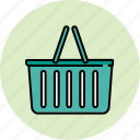basket, empty, shop, shopping icon
