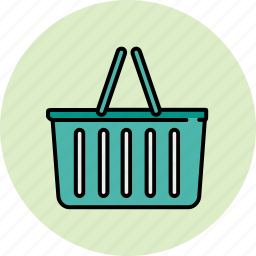 basket, empty, shop, shopping icon