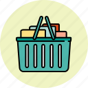 basket, buy, full, shop, shopping icon