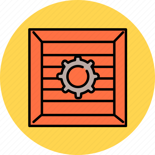 buy, crate, preferences, settings, shop, shopping icon