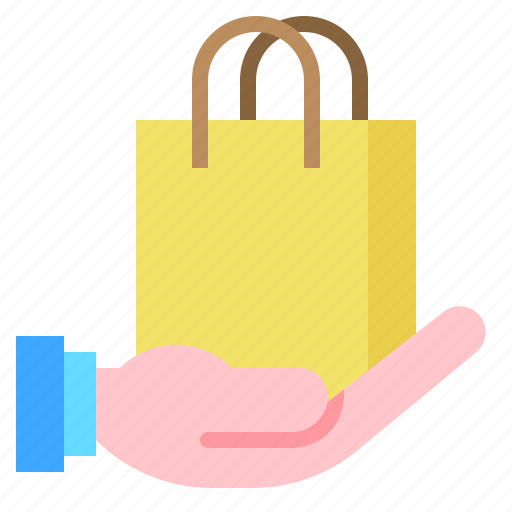 bag, buy, hand, sale, shopping icon