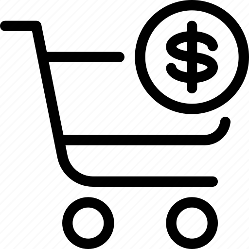 checkout, currency, dollar, dollar-checkout, e-commerce, exit, shopping icon