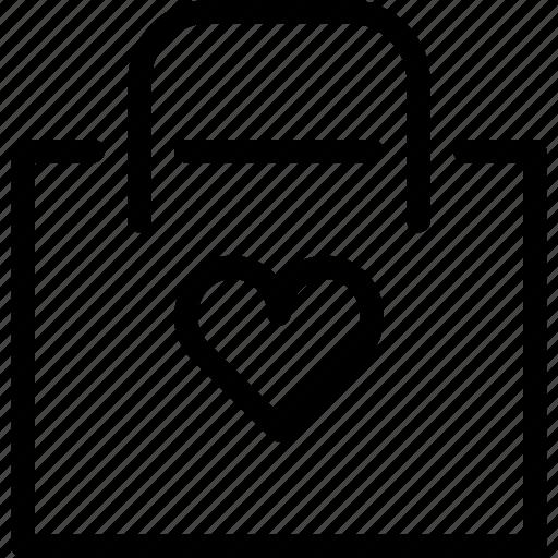 bookmark, e-commerce, favorite, favorite-store, line-icon, shopping, store icon