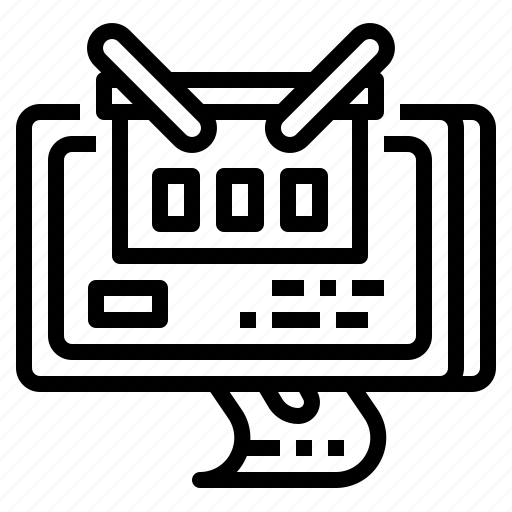 basket, buy, ecommerce, online, web icon