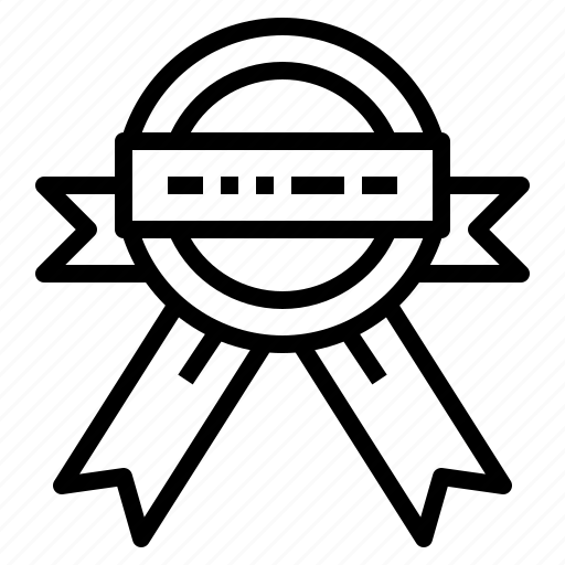 label, ribbon, shopping, sticker, warranty icon