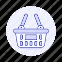 basket, baskets, department, market, shop, shopping, store, super icon