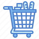 cart, commerce, shopping, supermarket icon