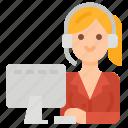 customer, service, support, operator, call, center