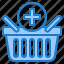 basket, shopping, online, buy, add