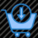 shopping, cart, online, trolley, add