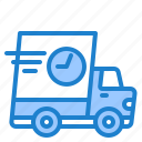 truck, transporation, delivery, logistic, fast