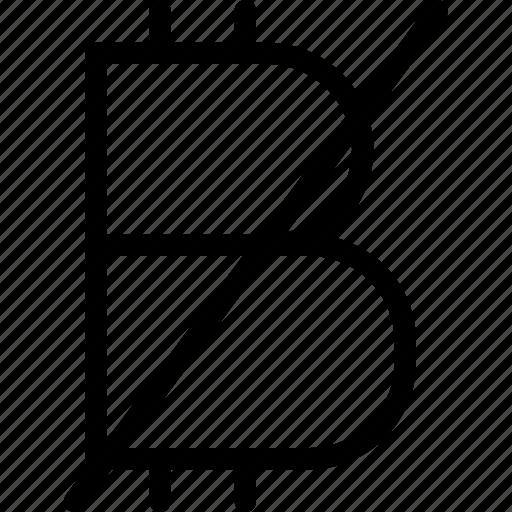 bitcoin, discount, sale, shopping, tag icon