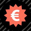 big, buy, currency, european, save, savings, tag icon