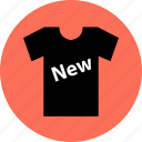 item, merchandise, new, shirt, t, tee icon
