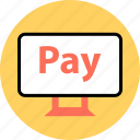 alibaba, amazon, check, now, out, pay, pc icon