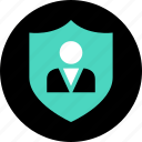 customer, online, safe, secured, service, shopping icon