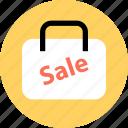 bag, event, good, merchandise, sale, shopping icon
