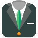 clothing, formal, shopping, suit icon