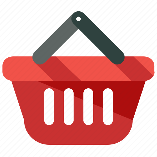 basket, purchases, shopping icon