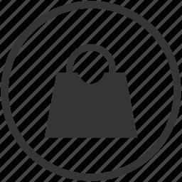bag, fashion, handbag, money, shop, shopping icon