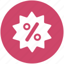 shopping, discount, label, percentage, price