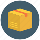 box, commerce, delivery, packing, parcel, retail, shipping icon icon