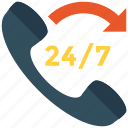 customer support, phone, support, telephone icon icon