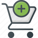 action, add, buy, cart, shop, store icon