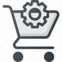 action, buy, cart, settings, shop, store icon