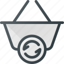 action, basket, buy, refresh, shop, shopping icon