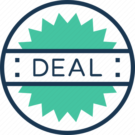 business, commerce, deal, finance, shopping icon