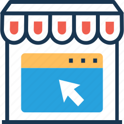 ecommerce, estore, online shop, online shopping, shopping store icon