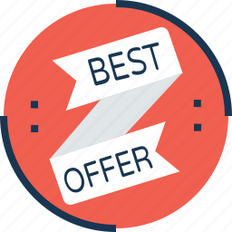 best offer, discount, offer, sale, tag icon