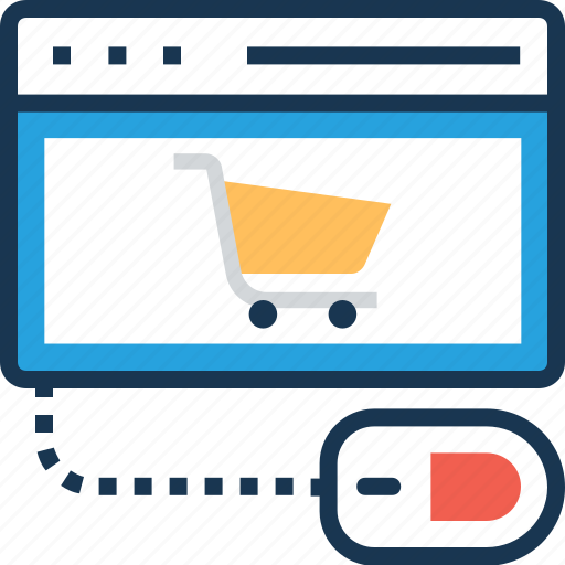 cart, e commerce, online shopping, online store, shopping icon