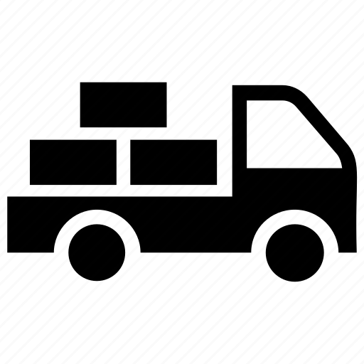 Delivery van, freight truck, logistics container, shipment truck, shipping van icon - Download on Iconfinder