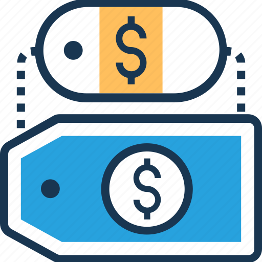 Commercial tag, dollar, label, price tag, tag icon - Download on Iconfinder