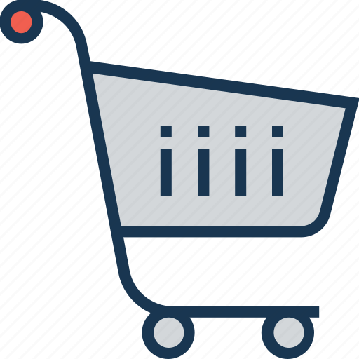 ecommerce, online store, shopping, store, trolley icon