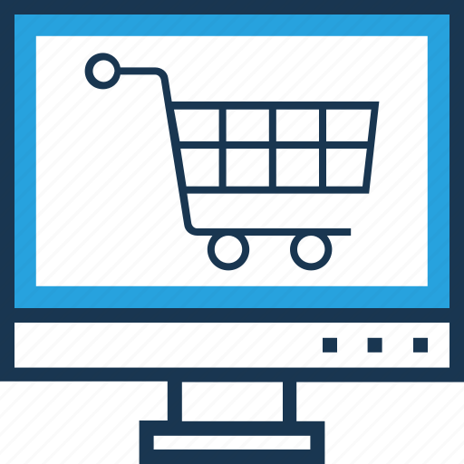 cart, ecommerce, online shopping, shopping, trolley icon