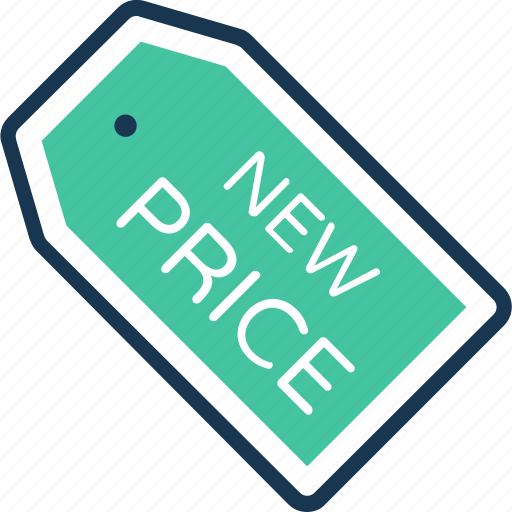 Commercial tag, label, new price, price tag, tag icon - Download on Iconfinder