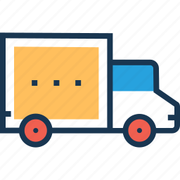 cargo, delivery, shipping, truck, van icon