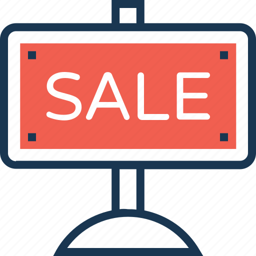 info, info board, sale, sale board, shop icon