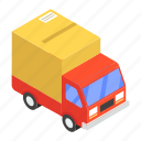 cargo, delivery van, logistic delivery, road freight, shipment, shipping truck icon