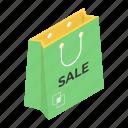 grocery bag, tote bag, shopping bag, hand bag, shopping sale, jute bag icon