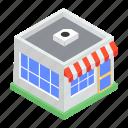 godown, marketplace, outlet, shop, store, storehouse, supermarket