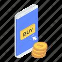 buy online, eshopping, mcommerce, mobile shopping, online shopping icon