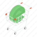 purchasing, shopping trolley, shopping, buying, ecommerce icon