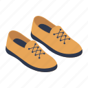 footgear, footpiece, footwear, menswear, shoes icon