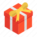 gift, gift box, package, present, surprise, wrapped gift icon