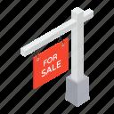ad board, advertisement, for sale, info board, sale board, signboard icon